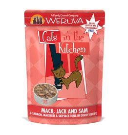 Weruva Weruva CITK Mack, Jack & Sam Cat Pouch 3oz