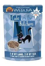 Weruva Weruva CITK 1 if By Land, 2 if By Sea Cat Pouch 3oz