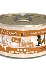 Weruva Weruva CITK Fowl Ball Cat Can 3.2oz