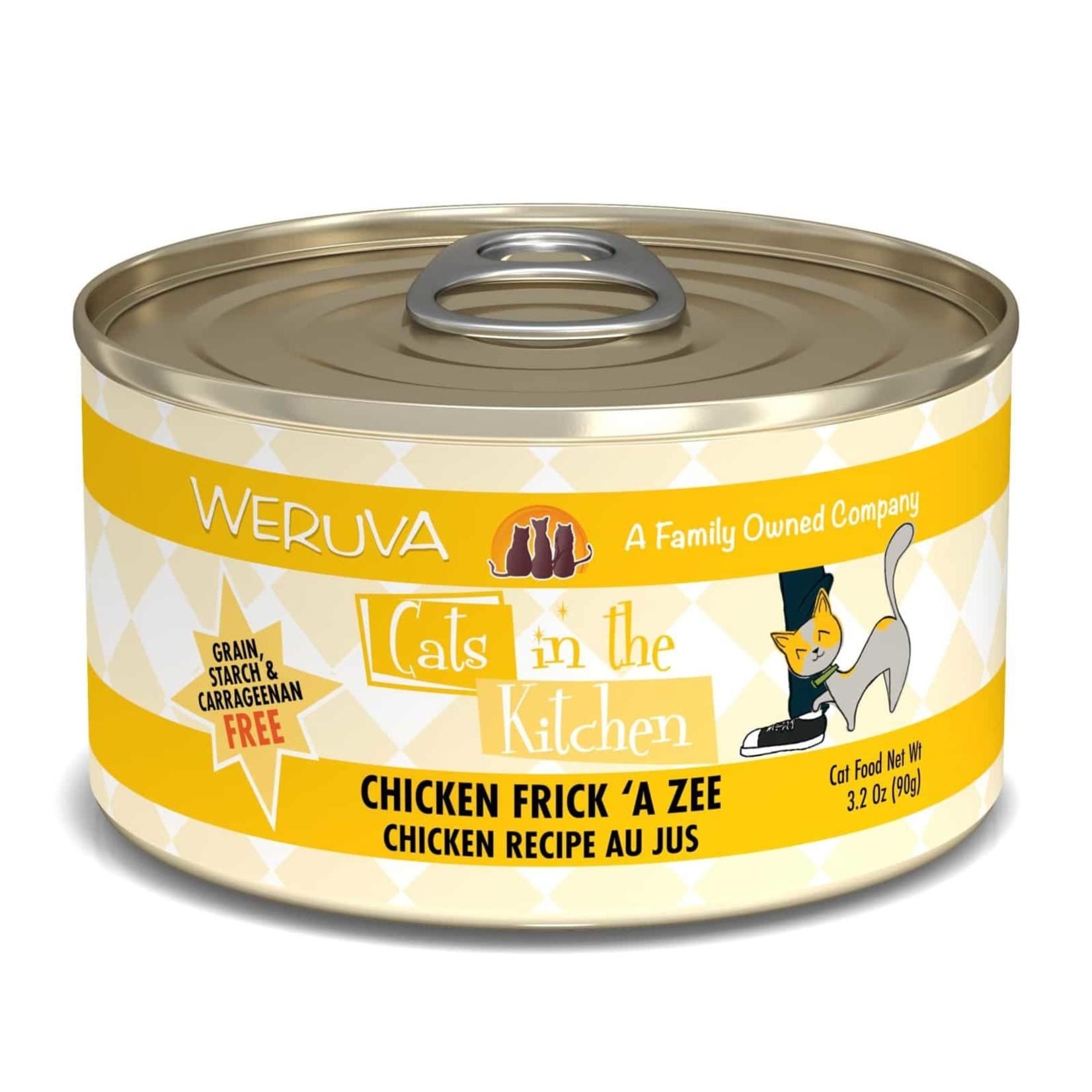 Weruva Weruva CITK Chicken Frick 'A Zee Cat Can 3.2oz