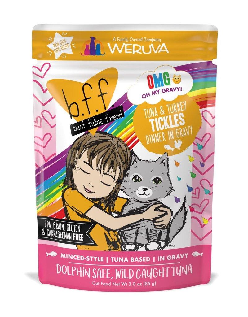 Weruva Weruva BFF OMG Tuna & Turkey Tickles Cat Pouch 3oz