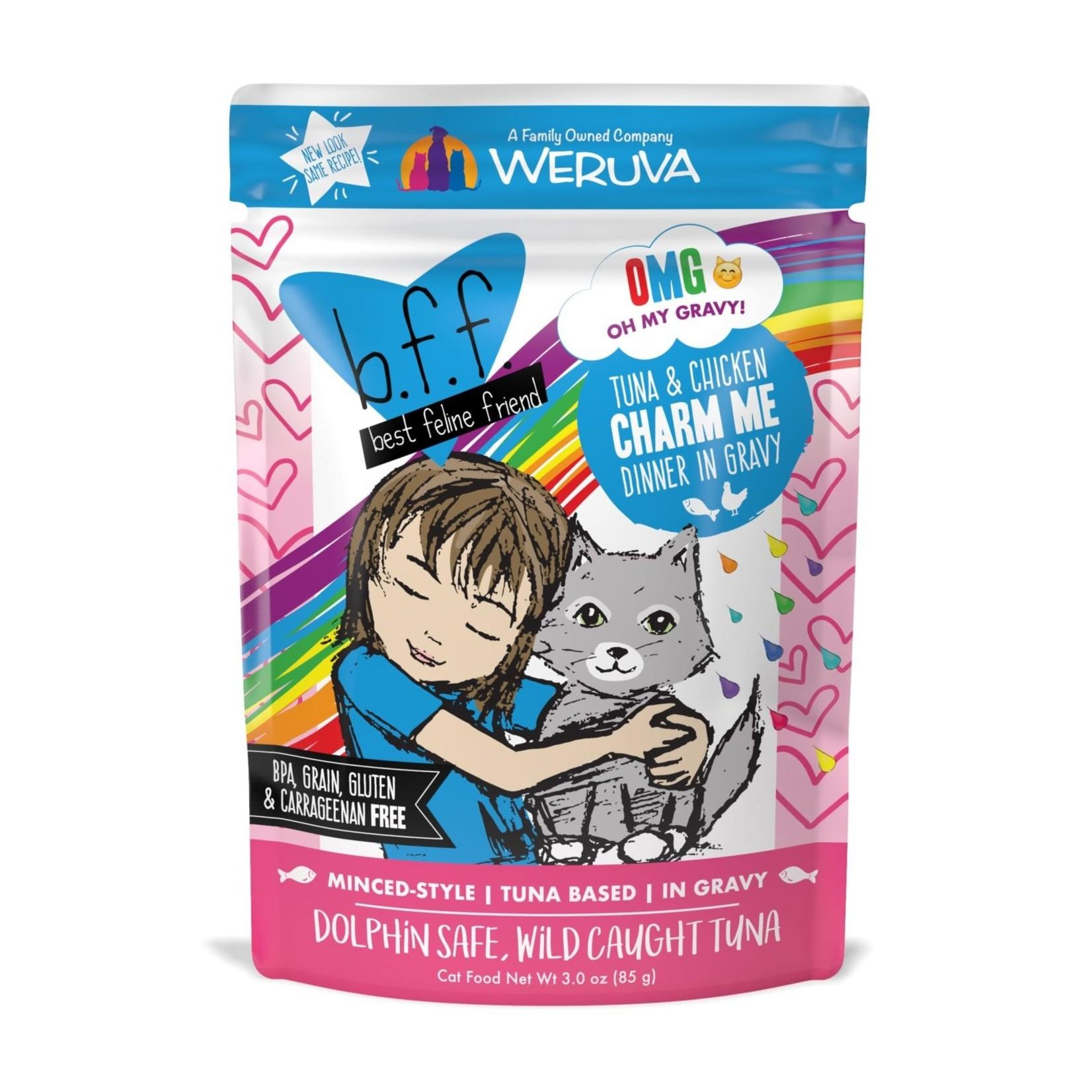 Weruva Weruva BFF OMG Tuna & Chicken Charm Me Cat Pouch 3oz