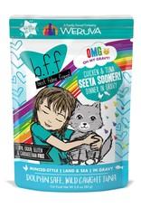Weruva Weruva BFF OMG Seeya Sooner! Chicken & Tuna Cat Pouch 2.8oz