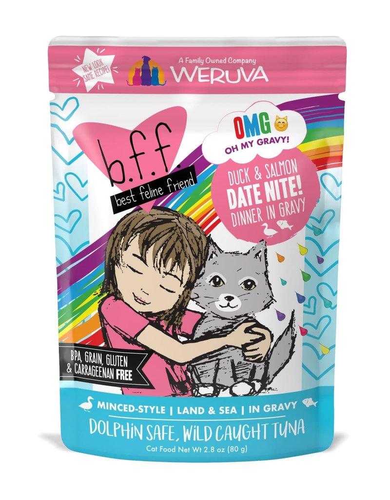 Weruva Weruva BFF OMG Date Nite! Duck & Salmon Cat Pouch 2.8oz