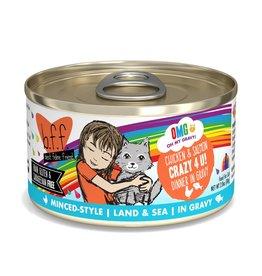 Weruva Weruva BFF OMG Chicken & Salmon Crazy 4 U! Cat Can 2.8oz
