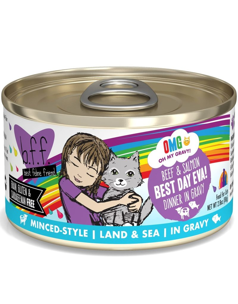 Weruva Weruva BFF OMG Beef & Salmon Best Day Eva! Cat Can 2.8oz