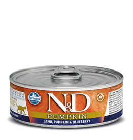 Farmina Farmina Pumpkin Lamb, Blueberry Canned Cat Food 2.8oz