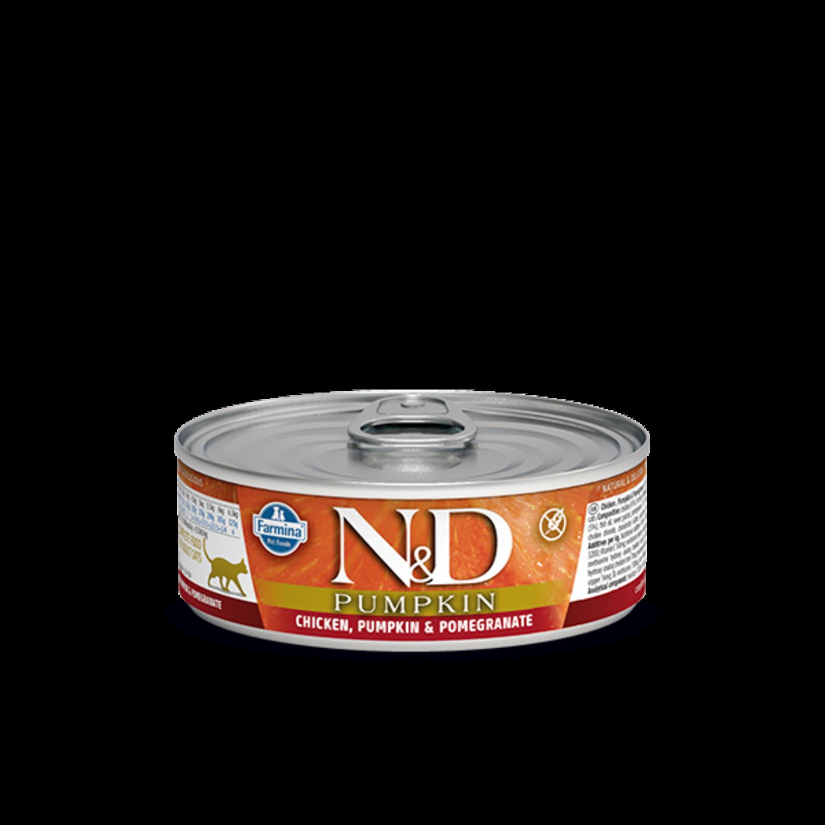 Farmina Farmina Pumpkin Chicken, Pomegranate Canned Cat Food 2.8oz