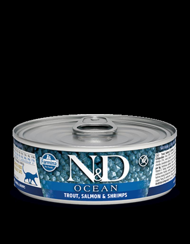 Farmina Farmina Ocean Trout, Salmon & Shrimp Canned Cat Food 2.8oz