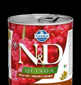 Farmina Farmina Quinoa Skin & Coat Venison Canned Dog Food 10.05oz