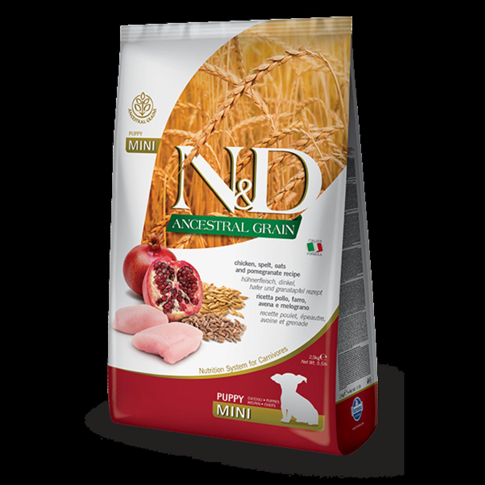Farmina Farmina Ancestral Grain Chicken & Pomegranate Puppy Food