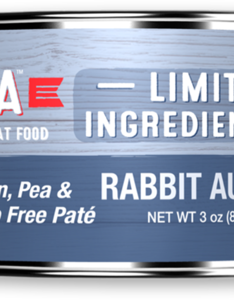 Koha KOHA Limited Ingredient Diet Rabbit Au Jus Canned Cat Food 3oz