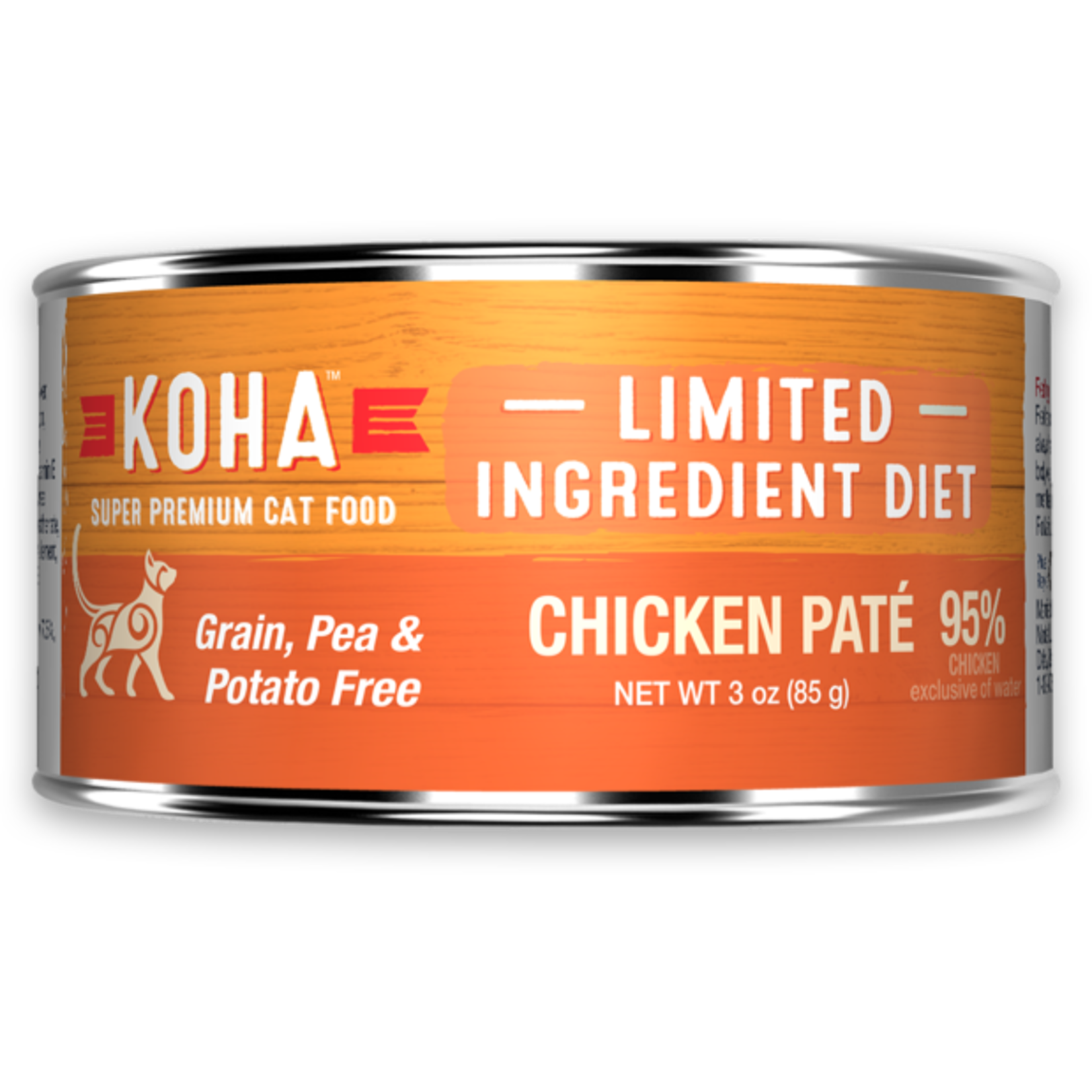 Koha KOHA Limited Ingredient Diet Chicken Pate Canned Cat Food 3oz