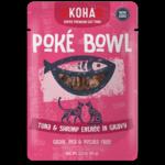 Koha KOHA Poke Bowl Tuna & Shrimp in Gravy Cat Food Pouch 2.8oz - FINAL SALE No Exchanges/Returns