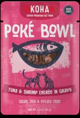 Koha KOHA Poke Bowl Tuna & Shrimp in Gravy Cat Food Pouch 2.8oz