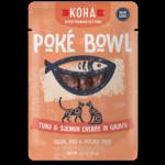Koha KOHA Poke Bowl Tuna & Salmon in Gravy Cat Food Pouch 2.8oz