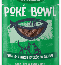 Koha KOHA Poke Bowl Tuna & Turkey in Gravy Cat Food Pouch 2.8oz