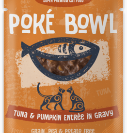 Koha KOHA Poke Bowl Tuna & Pumpkin in Gravy Cat Food Pouch 2.8oz