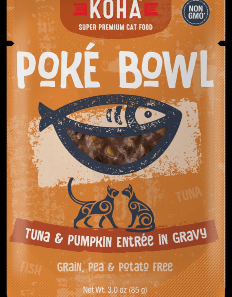 Koha KOHA Poke Bowl Tuna & Pumpkin in Gravy Cat Food Pouch 2.8oz