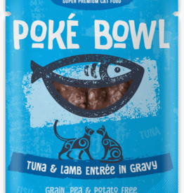 Koha KOHA Poke Bowl Tuna & Lamb In Gravy Cat Food Pouch 2.8oz