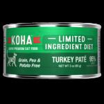 Koha KOHA Limited Ingredient Diet Turkey Pate Canned Cat Food 3oz