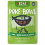 Koha KOHA Poke Bowl Tuna & Duck in Gravy Cat Food Pouch 2.8oz - FINAL SALE No Exchanges/Returns