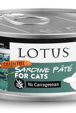 Lotus Lotus Sardine Pate Cat Canned Food
