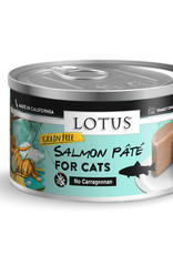 Lotus Lotus Salmon Pate Cat Canned Food 2.75oz