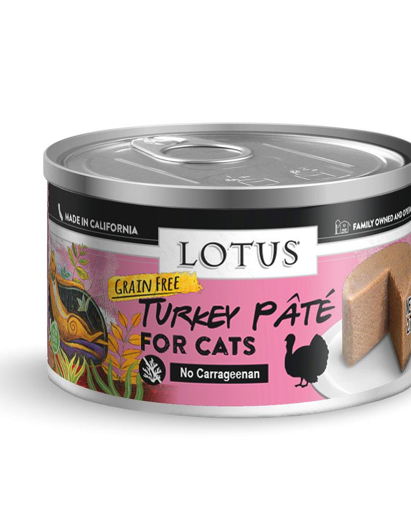 Lotus Lotus Turkey Pate Cat Canned Food