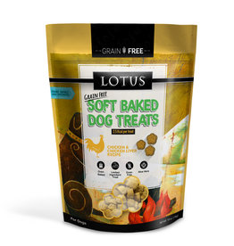 Lotus Lotus Baked Chicken & Chicken Liver Dog Treats 10oz
