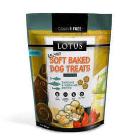 Lotus Lotus Baked Sardine & Herring Dog Treats 10oz