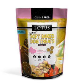Lotus Lotus Baked Turkey & Turkey Liver Dog Treat 10oz