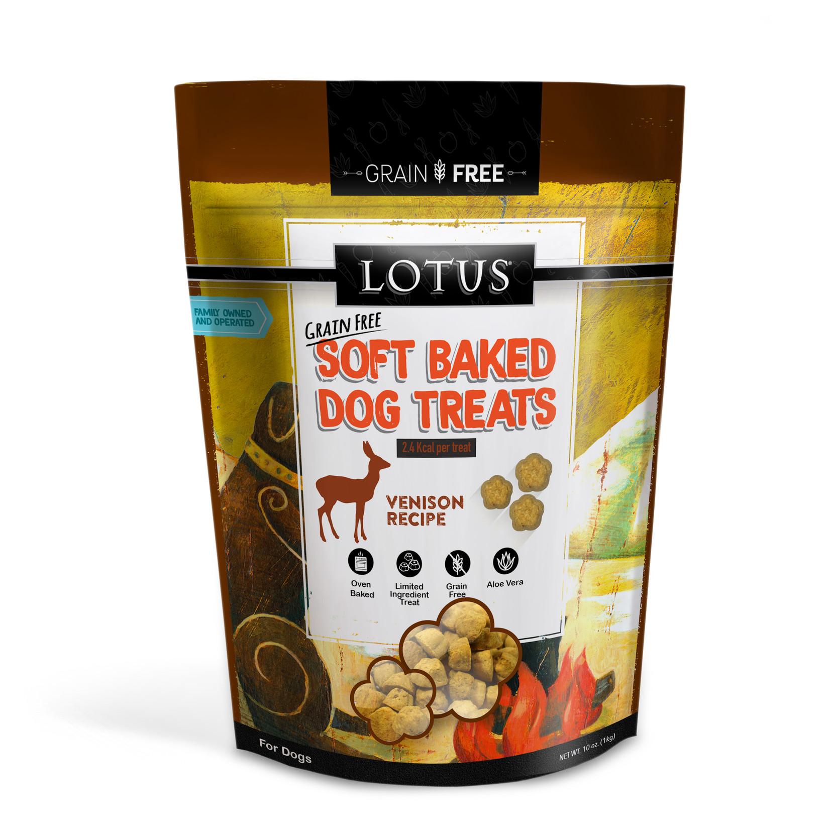 Lotus Lotus Baked Venison Dog Treats 10oz