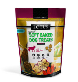 Lotus Lotus Baked Lamb & Lamb Tripe Dog Treats 10oz