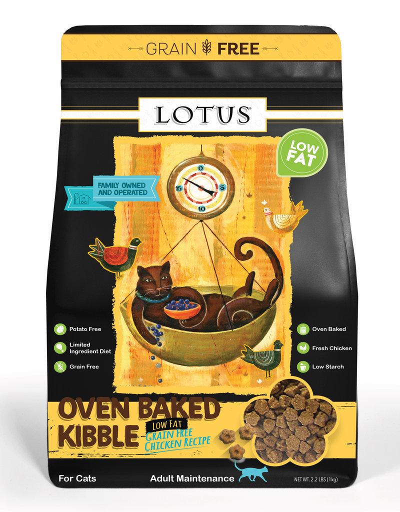 Lotus Lotus Low Fat Chicken Cat Food 2.2lb
