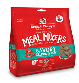 Stella & Chewys Stella & Chewy's Freeze Dried Meal Mixers Savory Salmon & Cod Dog Food