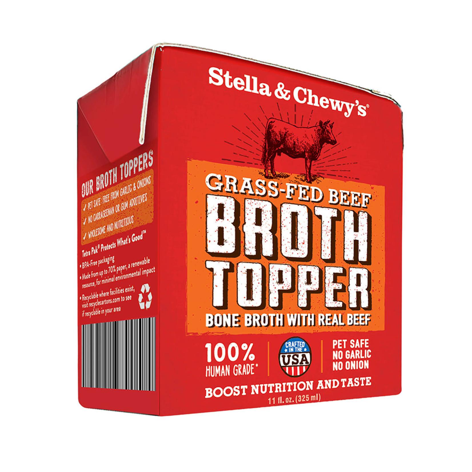 Stella & Chewys Stella & Chewy's Grass-Fed Beef Broth Topper Dog Can 11oz