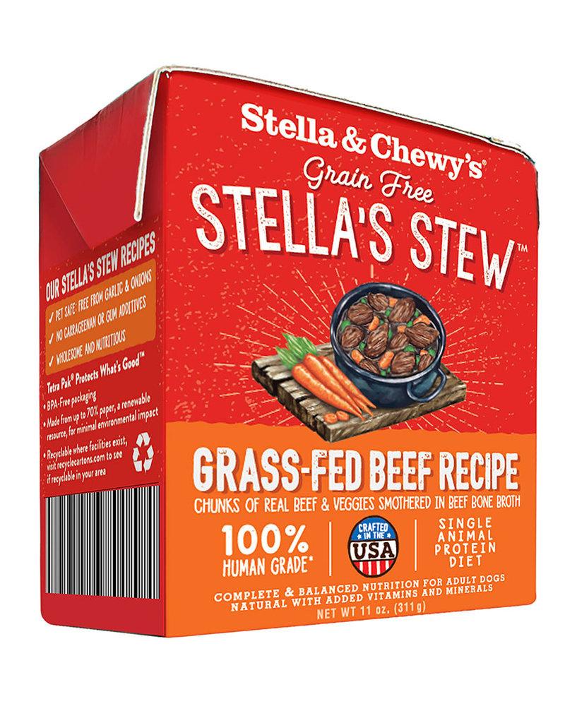 Stella & Chewys Stella & Chewy's Stew Grass-Fed Beef Canned Dog Food 11oz