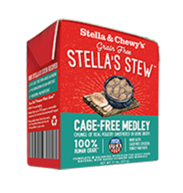 Stella & Chewys Stella & Chewy's Stew Cage-Free Medley Canned Dog Food 11oz