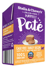 Stella & Chewys Stella & Chewy's Purrfect Pate Cage-Free Turkey Canned Cat Food 5.5oz