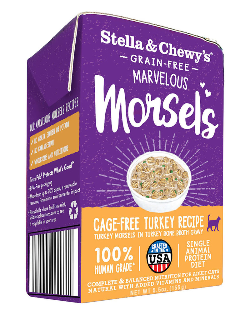 Stella & Chewys Stella & Chewy's Marvelous Morsels Cage-Free Turkey Cat Can 5.5oz