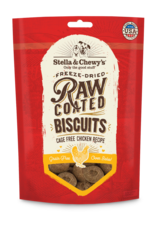 Stella & Chewys Stella & Chewy's Raw Coated Cage-Free Chicken Biscuits Dog Treats 9oz