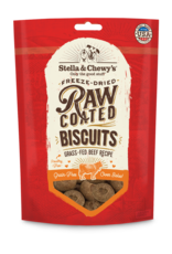 Stella & Chewys Stella & Chewy's Raw Coated Grass-Fed Beef Biscuits Dog Treats 9oz