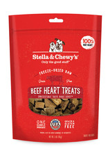 Stella & Chewys Stella & Chewy's Beef Heart Dog Treats 3oz