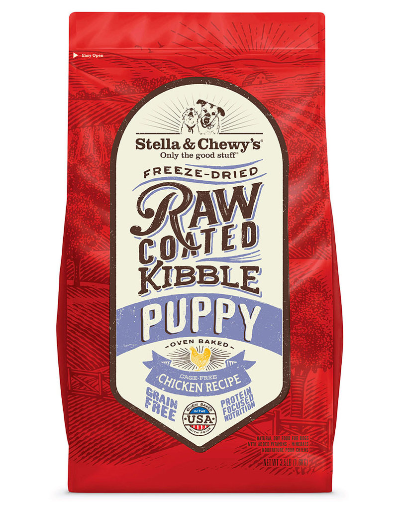 Stella & Chewys Stella & Chewy's Raw Coated Cage-Free Chicken Puppy Food