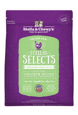 Stella & Chewys Stella & Chewy's Selects Frozen Raw Cage-Free Chicken Cat Food 1lb