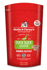 Stella & Chewys Stella & Chewy's Duck Duck Goose Frozen Raw Patties Dog Food