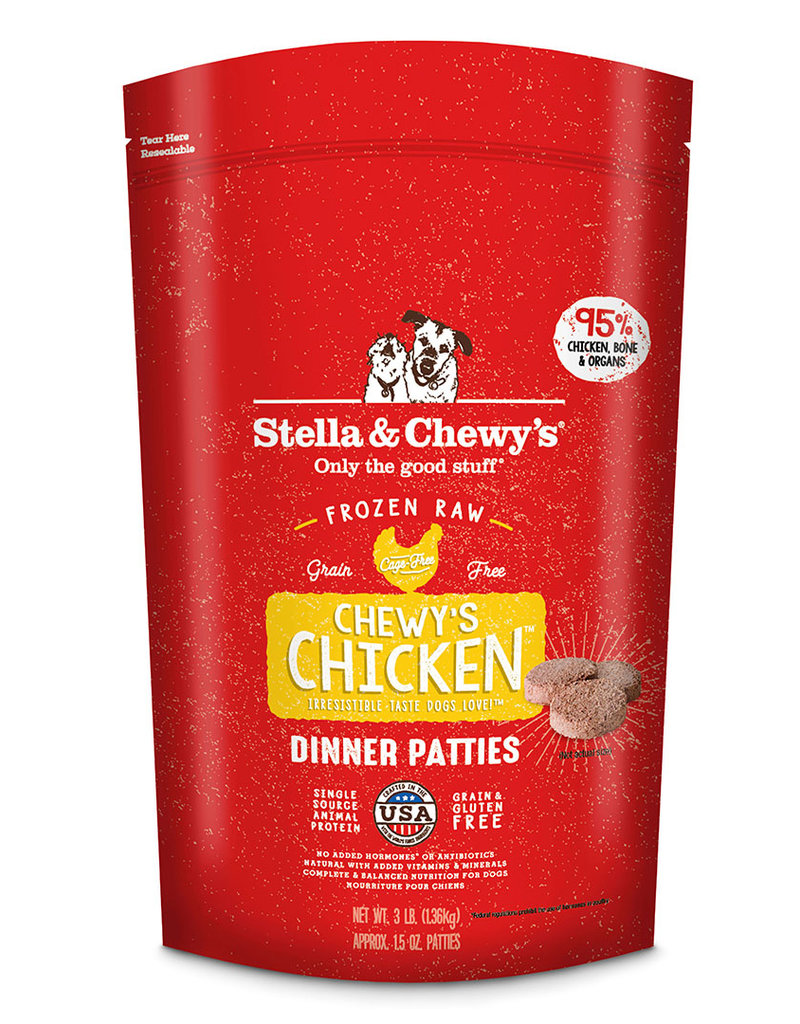 Stella & Chewys Stella & Chewy's Chicken Frozen Raw Patties Dog Food