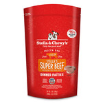 Stella & Chewys Stella & Chewy's Super Beef Frozen Raw Patties Dog Food