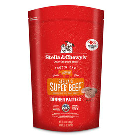 Stella & Chewys Stella & Chewy's Super Beef Frozen Raw Patties Dog Food